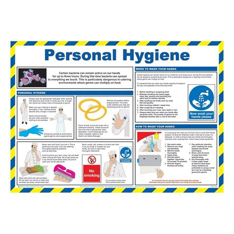 personal hygiene safety posters mm  mm  key