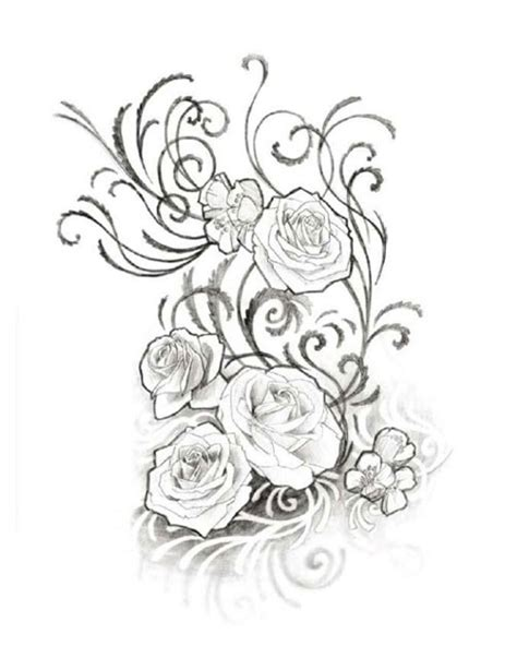 roses tattoo designs black and white roses in black and white free design ideas