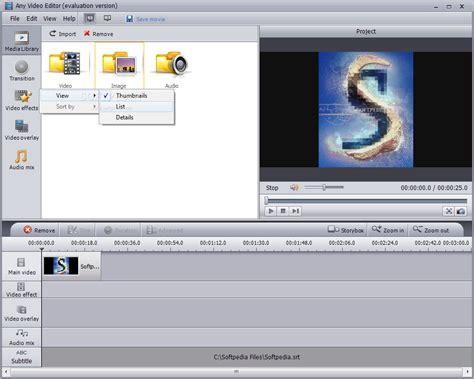 video editing software free download full version softpedia any video editor download