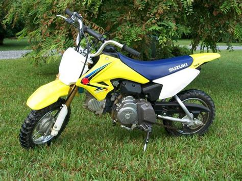 Suzuki 70 Dirt Bike 2008 Suzuki Drz 70 Dirt Bike For Sale On 2040motos