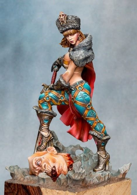 figure model kits scale models 54mm warrior figure model resin kit