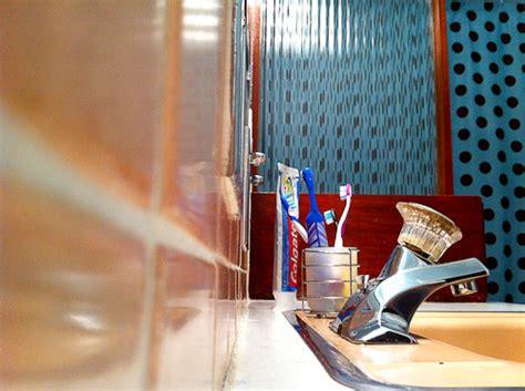 surf decor bathroom checkerboard floors archives retro renovation