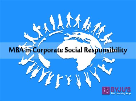 Mba In Corporate Social Responsibility by List Of B Schools Offer Mba In Corporate Social