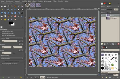 make seamless pattern gimp create perfectly repeatable textures tutorials