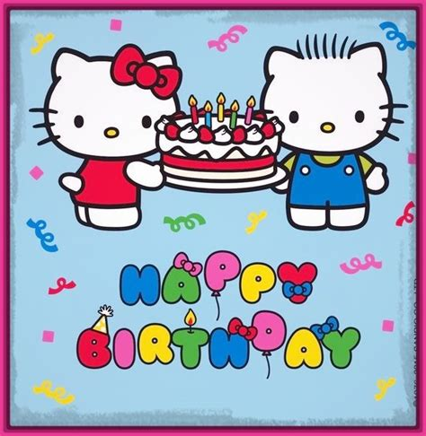 imagenes de kitty de cumpleaños imagenes de feliz cumplea 241 os hello kitty archivos