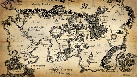 Map Wallpaper My - visionary universe world map by steelmyst on deviantart