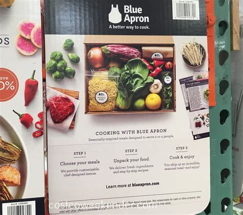 Blue Apron Costco Gift Card - blue apron 2 50 gift cards costco weekender