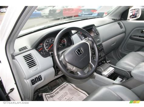 grey honda pilot gray interior 2005 honda pilot ex l 4wd photo 40611129