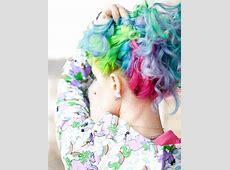 Fuck Yeah, Fantasy Hair!, pastel rainbow hair Rainbow Hair Tumblr