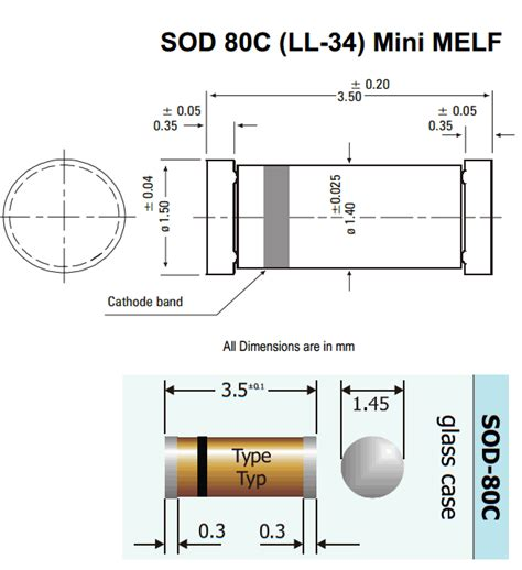 melf resistor sizes smt surface mount technology footprint references openxc 博客园