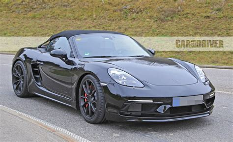 2019 Porsche Boxster S by 2019 Porsche 718 Boxster Spyder Photos News Car