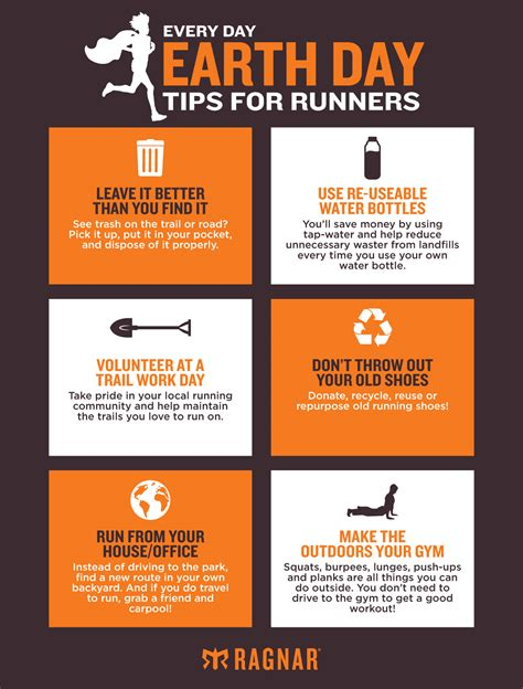 Things Every Day every day earth day tips for runners blognar