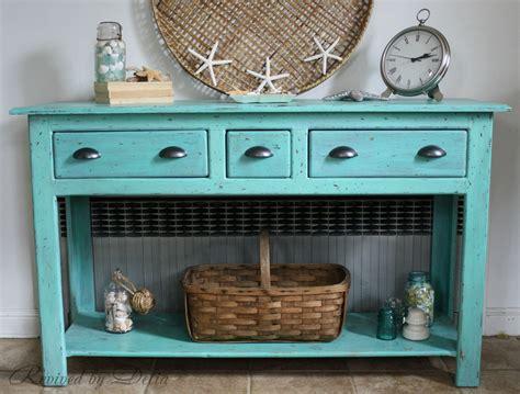 coastal sofa table beachy sofa table redo furniture inspiration