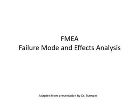 fmea potential failure mode and effects analysis ppt ppt potential failure mode dbs chart powerpoint