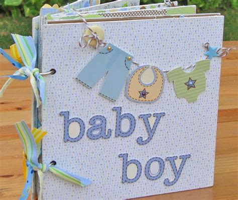 Handmade Baby Album - 17 best ideas about baby album on project