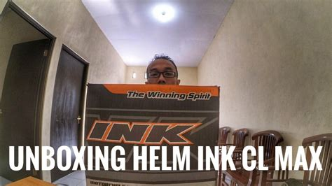 Helm Ink Jember vlog unboxing helm ink cl max my new helmet