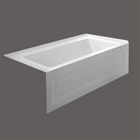 Valley   QUAD 54 X 30 Inch Skirted Bathtub Left Hand Drain