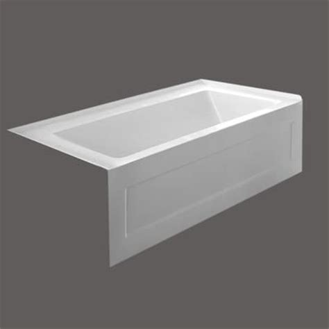 Valley   QUAD 54 X 30 Inch Skirted Bathtub Left Hand Drain
