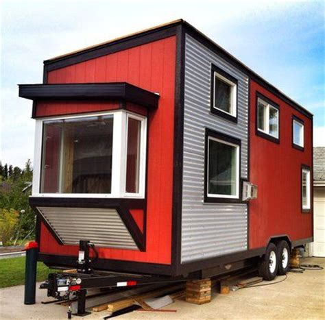house of wheels tiny house on wheels in calgary gets a reprieve cabin on wheels pinterest tiny
