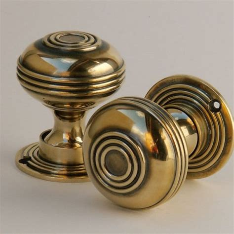 Door Knobs In by Bloxwich Door Knobs In Aged Brass Dblo From Cheshire