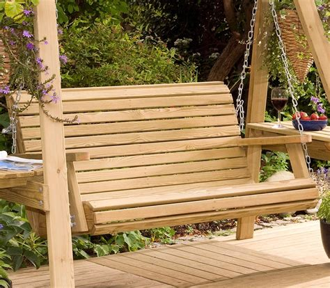 wooden garden swing seat uk buy lilli 2 seater swing seat only at pepe garden 2016