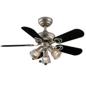 Hton Bay Remote Ceiling Fan Hton Bay San Marino 36 In Brushed Steel Ceiling Fan