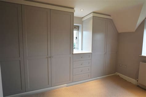 Shaker Fitted Wardrobes by Traditional And Period Bespoke Bedroom Furniture