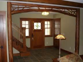 how to decorate a craftsman home peeled tulip poplar archway craftsman home decor other metro by hearthwoods custom