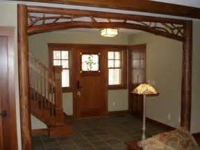 Craftsman Home Decor by Peeled Tulip Poplar Archway Craftsman Home Decor