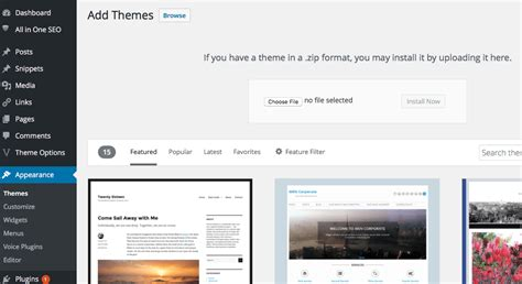 upload themes wordpress free beginners guide how to install a wordpress theme stacktips