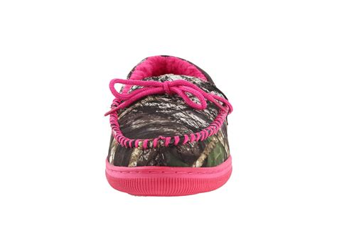 pink mossy oak slippers m f western mossy oak moccasin slippers mossy oak pink