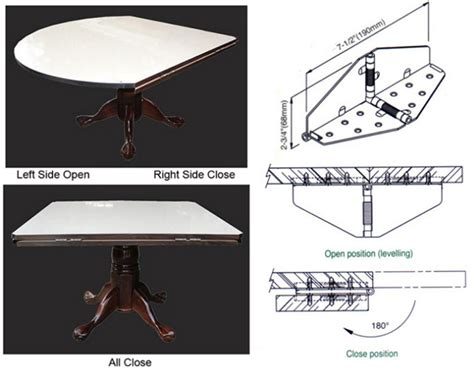 fold up table hinges multifunction furniture folding table joints butterfly