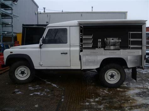 range rover van landrover coffee van