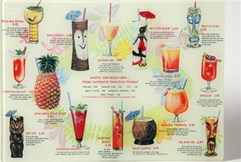 28 Drink Menu Templates Free Sle Exle Format Download Free Premium Templates Tiki Bar Menu Template