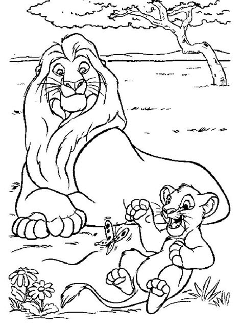 Lion King Coloring Pages Online Game | the lion king coloring pages