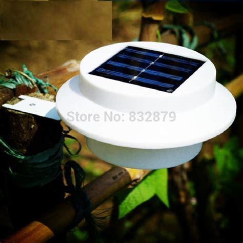 bright solar lights outdoor bright yard l solar panel garden light 3 led