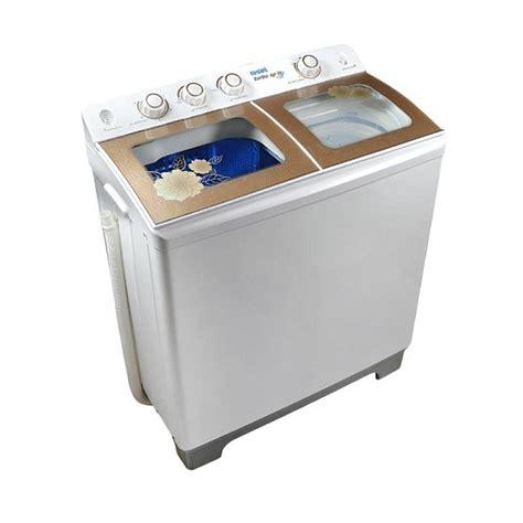 harga jual akari awm 12sk mesin cuci 2 tabung bluwash 11