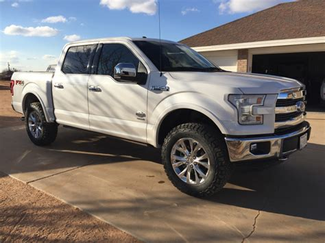 f150 show truck show me your leveled trucks with oem rims ford f150