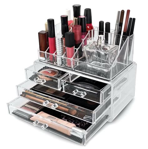 Acrylic Makeup Organizer clear acrylic makeup organizer target home design ideas