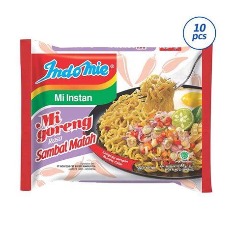 Harga Makanan Instan Selain Mie by Jual Groceries Indomie Mie Goreng Rasa Sambal Matah