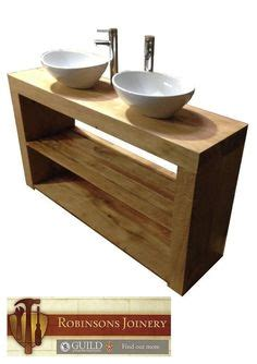 vanity units kleine badezimmer oak beam sink vanity unit ebay bathroom