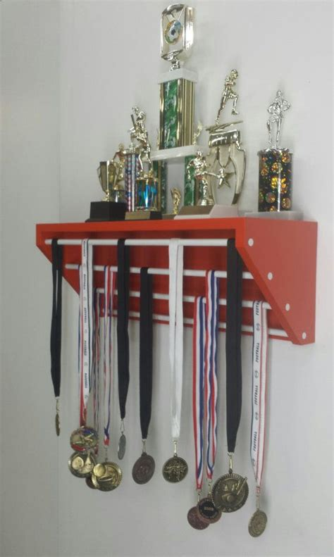 Gymnastics Trophy And Medal Shelf by 25 Best Ideas About Award Display On Trophies
