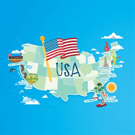 Search In Usa Usa Map Images