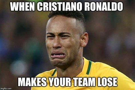 Ronaldo Crying Meme - image tagged in neymar crying imgflip