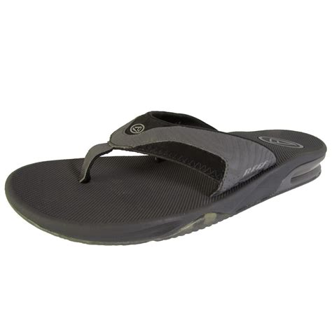 mens reef fanning flip flops sale reef mens fanning thong flip flop sandal shoes ebay