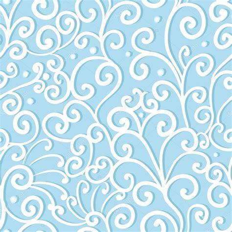 seamless pattern bg abstract swirl seamless pattern blue ornament waves