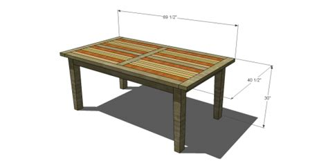 kitchen table woodworking plans pdf kitchen table building plans plans free