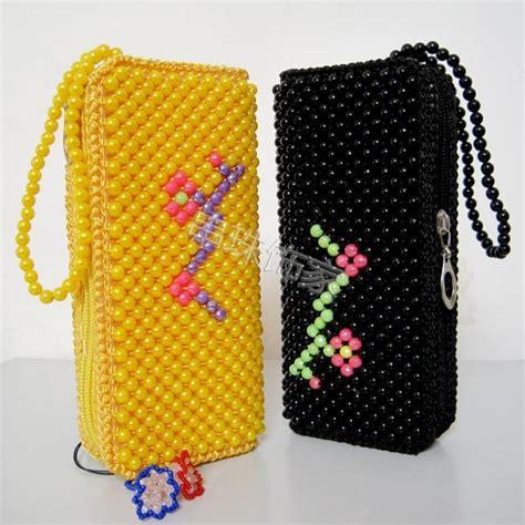 Diy Handmade Bags - beaded bags diy handmade bag with handle mobile phone bag