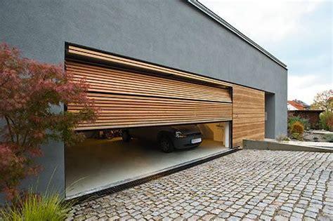 flaechenbuendige garagentore facade flaechenbuendige
