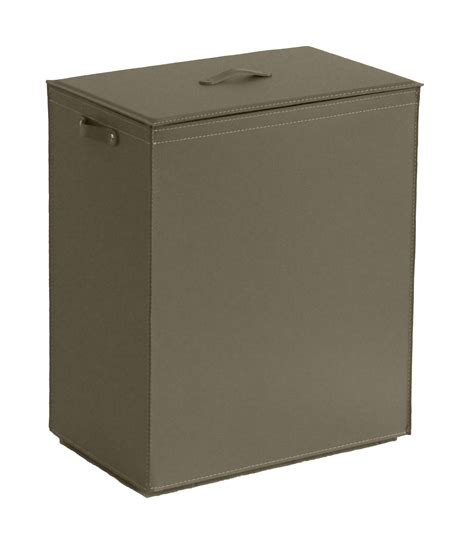 Tanned Leather Laundry Container Peter By As Tra Leather Laundry